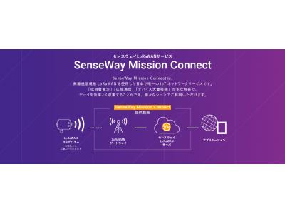 センスウェイ、「SenseWay Mission Connect」で新料金プランの提供を開始