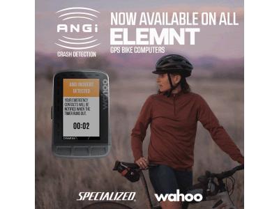 WahooはELEMNT GPS サイクルコンピューターシリーズとANGiセンサーのインテグレーションを発表します