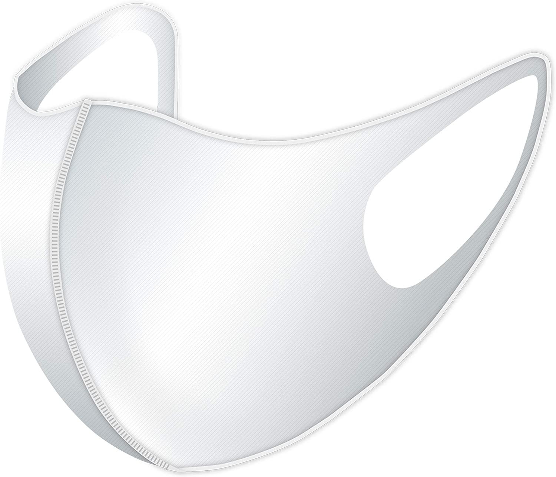 速乾性に消臭効果も備えたスポーツウェア素材の「洗える伸縮マスク」。好評につき継続販売決定! 画像