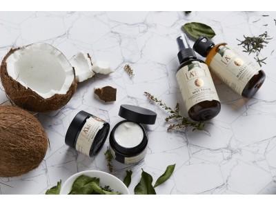 日本初上陸コスメブランド[A'kin]からオーガニックココナッツウォーターとグリーンティ配合の基礎化粧品5種類を新発売