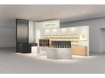 「HONEY ROA(ハニーロア)」が、一部サステナブル素材を取り入れた新店装で心斎橋パルコにNEW OPENいたします。