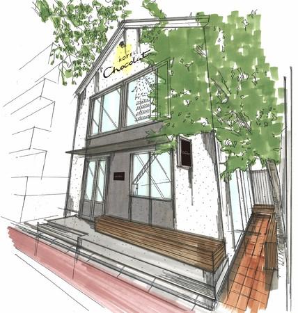 英国のカカオブランド「ホテルショコラ」東京・中目黒に新たなフラッグシップストアをオープン