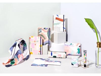 【MOGLEA × DELFONICS】アメリカの紙製品ブランドとのコラボレーション。アートを身近に感じられる文房具や雑貨をラインナップ