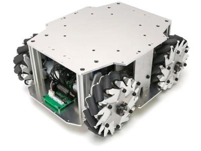 研究開発用台車ロボット「メカナムローバーVer2.1」のレンタルを開始