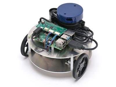 LiDAR搭載の学習用小型ロボット ライトローバー 出荷開始