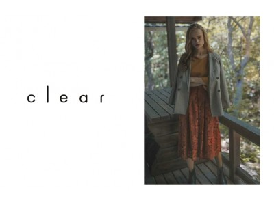 テーマは「Rough & Elegance」、ONもOFFも楽しむ女性のファッションをご提案する『clear』が上野マルイにオープン!