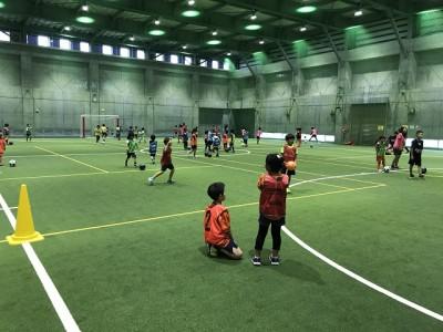 新潟市江南区で「新潟市ドキドキ・ワクワクふれあいサッカー教室」を開催