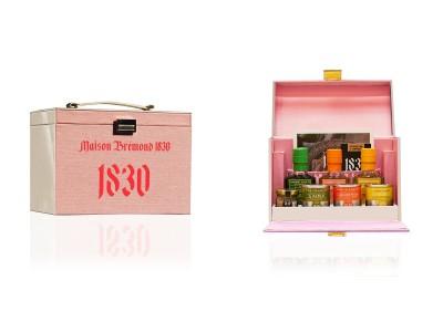 <限定15個>南仏プロヴァンス発グルメグロサリーブランド「メゾンブレモンド1830」から日本オリジナル「バニティバッグ」の新色ロゼが数量限定登場!