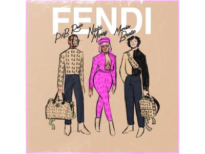 フェンディ、ニッキー・ミナージュとコラボした新作カプセルコレクション「FENDI PRINTS ON」を発表!