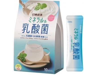 「日東紅茶 ミネラル&乳酸菌」新発売