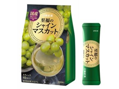 「日東紅茶 至福のシャインマスカット」新発売