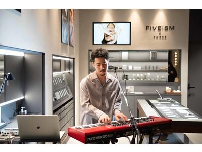 FIVEISM × THREEがYouTube音楽配信コンテンツ「LIVEISM」を始動!『TENDRE』によるエクスクルーシブアレンジのライブ映像をプレミア公開