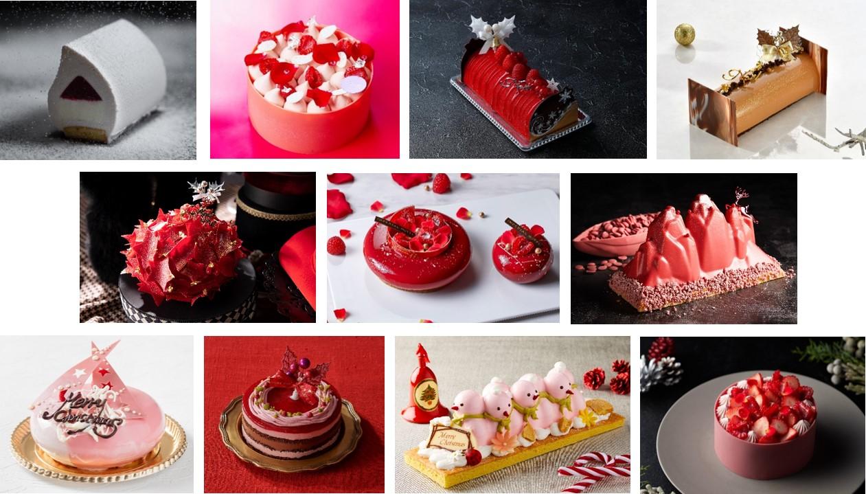 有名ホテルや実力派パティシエたちが贈る、2020年心華やぐクリスマスケーキ11商品