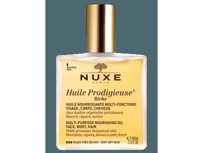 パリ発ナチュラルコスメ<NUXE(ニュクス)>から、ドライスキンを贅沢に保湿する「プロディジュー オイル リッチ」が数量限定発売!