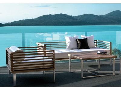 ハイエンド屋外リゾート家具のGISELEから新商品登場!ストーンや天然チークを使った次世代のガーデンリビングを提案。全18シリーズを一挙公開!