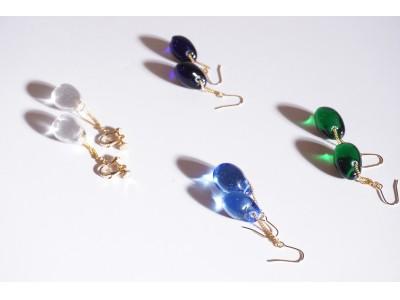 """チサ 天然石より美しいガラスジュエリーを目指して """"Nino(ニーノ)"""" 発表"""