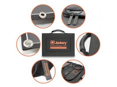 【Jackery】最大60W/18Vの出力が可能な折りたたみ式ソーラーパネル「Jackery SolarSaga 60」を発売