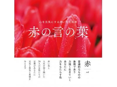 【新刊案内】これは読むパワースポット! 心を元気にする赤い花と名言『赤の言の葉』10月23日発売