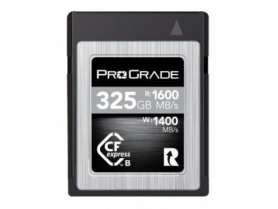 プログレードデジタルCFexpress COBALT 325GBカードを39,999円に値下げ