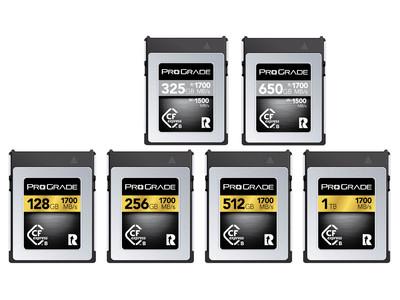 プログレードデジタル 第二世代CFexpressカードとNikon D5, D850, D500のCFexpress対応ファームとの動作確認を発表
