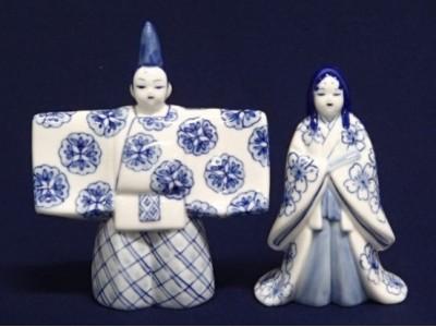 「ひなミッド」に飾る《瀬戸染付のお雛さま作り体験》