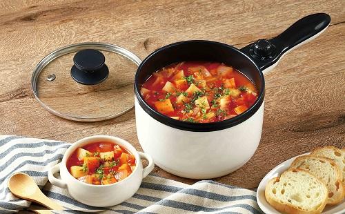お味噌汁からチゲまで お好みのスープを卓上で簡単に作れる調理家電!1人~2人にぴったりなサイズの『スープポット 1L』