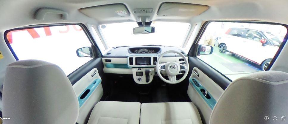 THETA 360.bizをダイハツ公式の中古車・軽自動車の検索サイト「U-CATCH」が採用 画像
