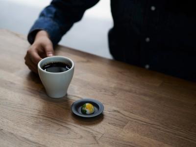 「一粒と一杯で、極上のコーヒータイムを」器で愉しむペアリング。