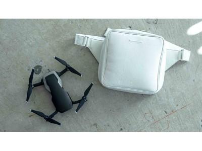 objcts.ioがファッションとデジタルの領域で活躍する市川渚とコラボレーション。ポータブルドローン『Mavic Air』をスタイリッシュに持ち歩くためのバッグ「Mavic Air Bag」を発売
