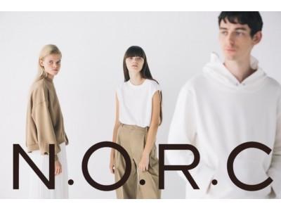 現代女性のリアルクローズを追求した究極のネオベーシックアイテムが充実の「N.O.R.C」デビュー