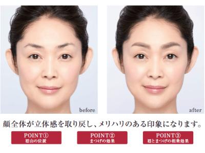 眉とまつげで瞬時に顔のメリハリを取り戻す、新・美容メニュー「顔の土台づくり」が、フェイスデザイニングのプロフェッショナル<ケサランパサラン>より12月1日に発売。