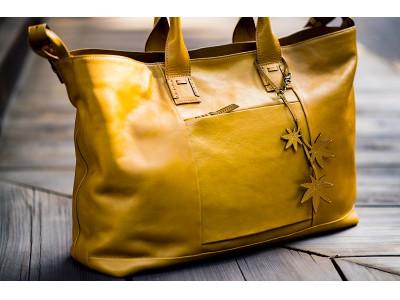 「ボストンタイプのトートバッグ」リッチでスマートな旅鞄「コルテオ」シリーズのグランデサイズ「コルテオグランデ」が2019年より新登場。