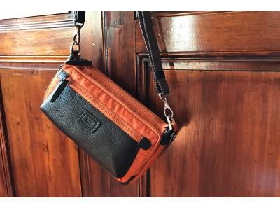 コンパクトなシルエットからは想像出来ない機能性満載のボディバッグ。「CRETA Multi Body bag」が「ダヴィンチ ファーロ」より登場