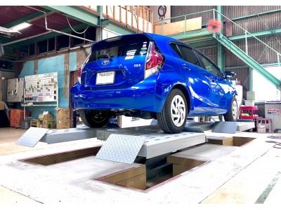 ファインピース BP専用ポリッシュリフトを大和自動車が導入。リフトなどの導入を通し、特定整備によって変わり始めた自動車補修業務業の生産性を向上させ、より安全で品質の高いサービスの提供を目指す。