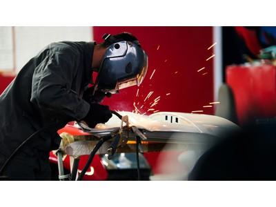 ファインピース、自動車修理工場(鈑金塗装工場)における溶接ヒューム対策の導入支援を開始。令和3年4月1日より「溶接ヒュームおよび塩基性酸化マンガン」が特定化学物質(管理第2類)へ