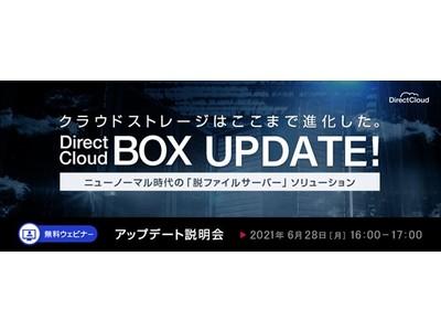 DirectCloud-BOXが大幅にアップデート