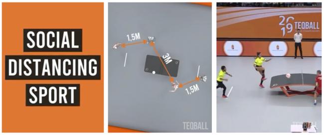 コロナ禍でも安全に楽しめる脱三密に適したスポーツTEQBALL(テックボール)の期間限定キャンペーンが実施されます。