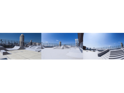 親子でも楽しめるお台場のスケートパークH.L.N.A SKYGARDENが2月23日リニューアルOPEN