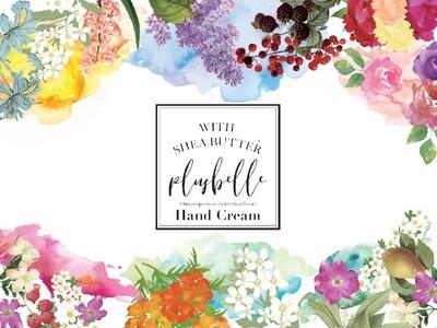 毎日のケアに♪人気の「Plusbelle」プリュベル から優しく香ってしっかり保湿!しっとり質感のハンドクリームシリーズが登場です!