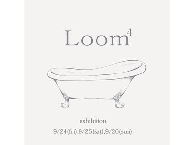 はっきりとしない、ゆったりと心地いいものを届けたいLoom⁴初の展示会を開催
