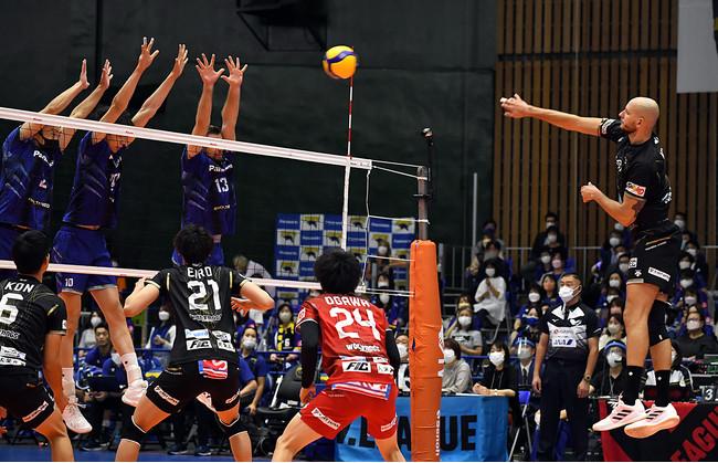 【バレー/Vリーグ】V1男女11試合で2021-22シーズン本格開幕