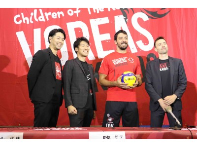 新入団外国人選手を発表|ヴォレアス北海道
