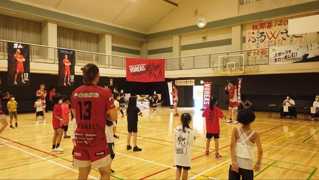 ヴォレアス北海道バレーボール教室、初の函館開催が決定   8/21・22
