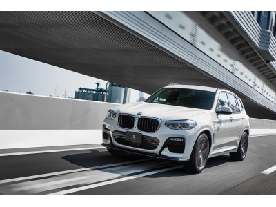 「3DDesign」BMW X3 M-Sportの チューニングプログラムを発表