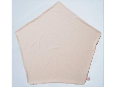 【新商品】眠っている間に驚くほど汗をかく赤ちゃんの寝汗対策に!大量の汗をかいても、肌に触れる面をサラサラに保つ快適ニット素材を使用した「ぐっすり座布団専用さらさらニットカバー」が新登場。