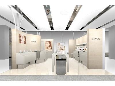2021年3月 エトヴォス直営店として松屋銀座店、北千住マルイ店、タカシマヤ ゲートタワーモール店がオープン