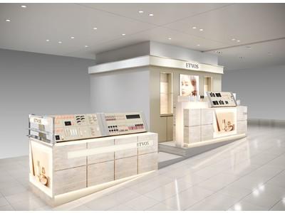 2021年10月 エトヴォス 西武池袋本店、阪神梅田店がオープン!西武池袋本店では期間限定のポップアップストアも開催