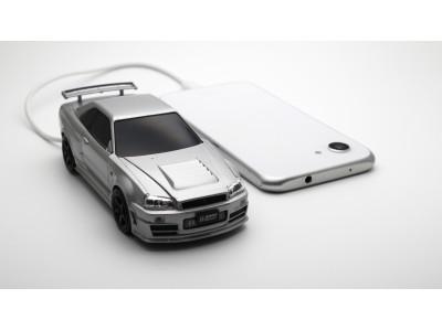 これがモバイルバッテリ?! 海外でも有名な名車 日産スカイラインGT-R R34型 モバイルバッテリーが登場