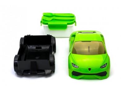ランボルギーニ ウラカンが弁当箱になりました。 大人気により新色グリーンがCAMSHOPより登場!
