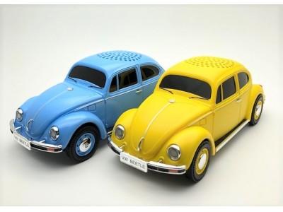 VWオールドビートルのBluetoothスピーカーが、7月販売決定!!CAMSHOPより先行予約受付開始!